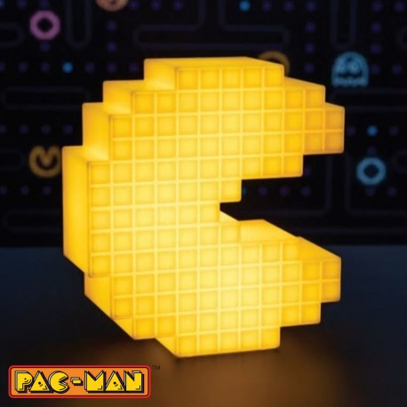 Pac-Man lámpara 3D Pixelated