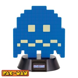 Pac-Man ® lámpara 3D Icon Turn To Blue Ghost 10 cm