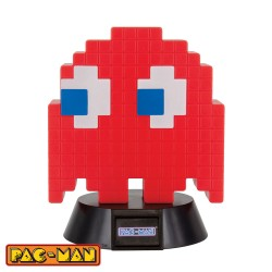 Pac-Man ® lámpara 3D Icon Blinky 10 cm