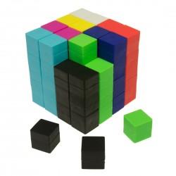 Imanes para creaciones 3D en forma de cubo