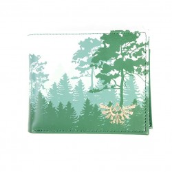 Cartera monedero The Legend Of Zelda ® Bosque verde