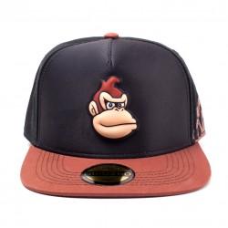 Gorra Donkey Kong ® Marrón y negra