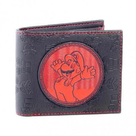 Cartera monedero de Mario y Planta Piraña ® Nintendo