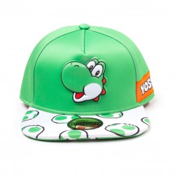 Gorra de Yoshi verde y blanca ® Nintendo