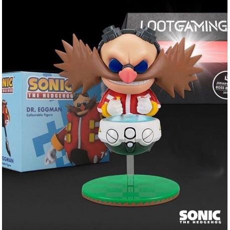 Sonic Figura Dr. Eggman Lootcrate Exclusive 10 cm