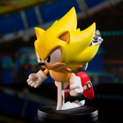 Sonic The Hedgehog Figura PVC BOOM8 Series Vol. 06 Super Sonic 8 cm