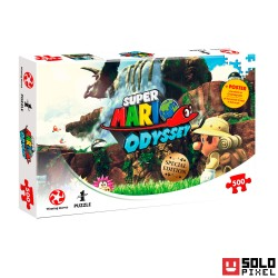 Super Mario Odyssey Puzzle Fossil Falls
