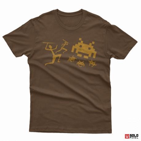 Camisetas frikis: Pintura rupestre