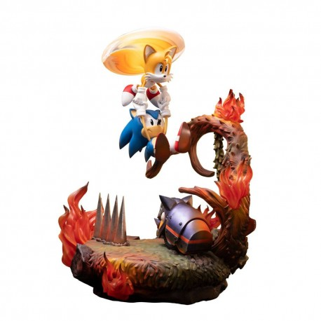 Sonic the Hedgehog Estatua Sonic & Tails 51 cm