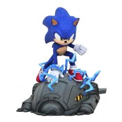 PRE-ORDER Estatua de Sonic, La Película en 13 cm
