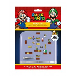 Super Mario Set de Imanes Mushroom Kingdom