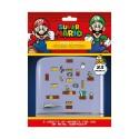 Super Mario Set de Imanes Mushroom Kingdom