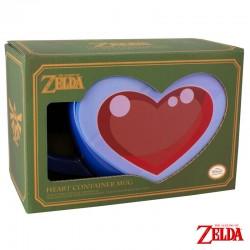 Taza de corazón Zelda