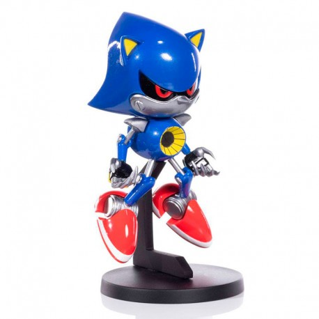 Sonic The Hedgehog Figura PVC BOOM8 Series Vol. 07 Metal Sonic 11 cm