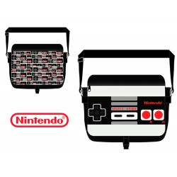 Nintendo - Bolso bandolera (Reversible)