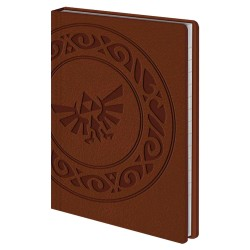Legend of Zelda Libreta Premium A6 Triforce