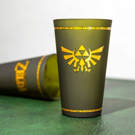 Vaso de cristal Hyrule Crest