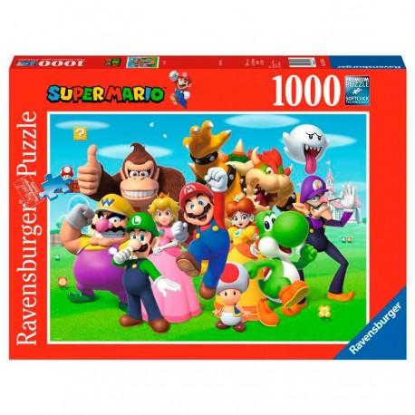 Nintendo Puzzle Super Mario 1000 piezas