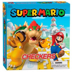 Juego de Damas Super Mario VS. Bowser
