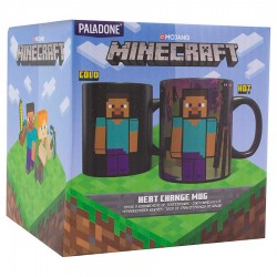 Taza térmica Enderman Minecraft
