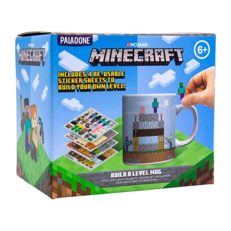 Taza pegatinas Minecraft
