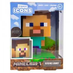 Lámpara Steve Minecraft