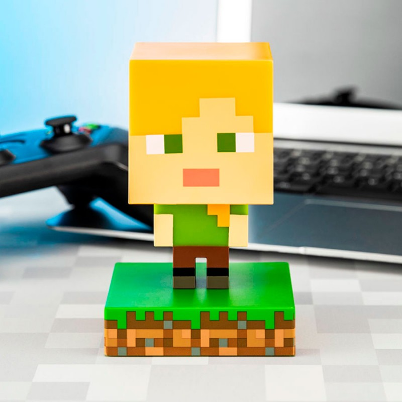 Lampara Minecraft Alex