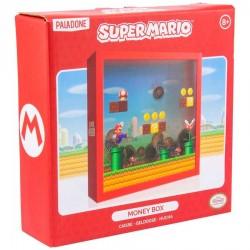 Hucha cuadrada de Super Mario