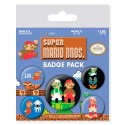Super Mario Bros. Pack 5 Chapas