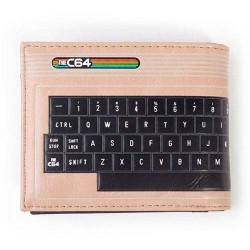 Commodore 64 Monedero cartera teclado