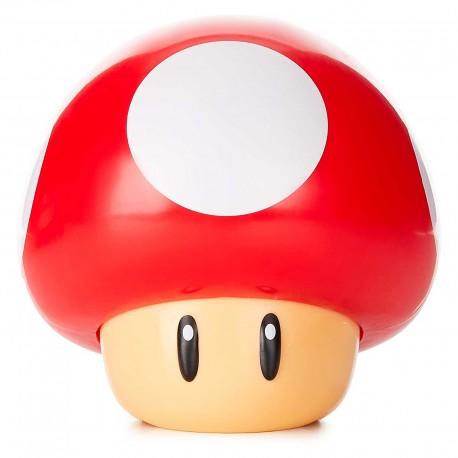 Lámpara Champiñón de Super Mario