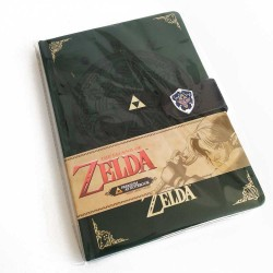 Cuaderno premium The Legend of Zelda Medallón