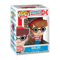 Dónde está Wally? POP! Books Vinyl Figura Wally 9 cm