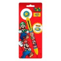 Bolígrafo 6 colores de Super Mario