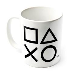 Taza de desayuno PlayStation Iconos