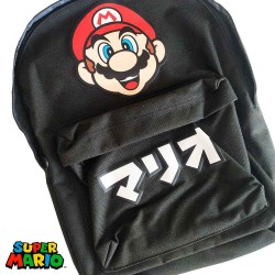 Mochila | Super Mario Japanese Text