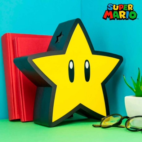 Lámpara Estrella de Super Mario