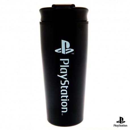 Vaso de viaje metálico PlayStation Onyx