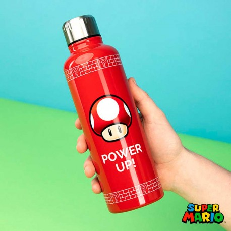 Botellín de Super Mario Power Up