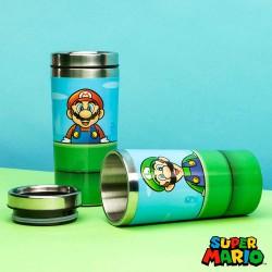 Vaso de viaje Super Mario tubería