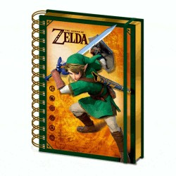 Libreta cuaderno The Legend Of Zelda lenticular 3D