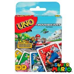 Juego de cartas UNO Mario Kart