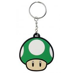 Llavero de caucho '1UP' (Nintendo)