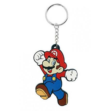 Llavero de caucho 'MARIO' (Nintendo)