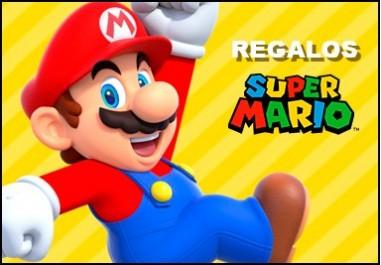 Regalos de Super Mario